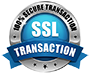 100% Secure SSL Transaction